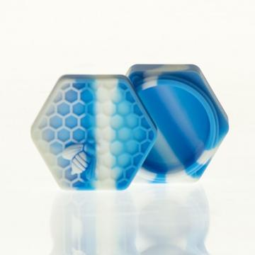Silicone Honeycomb-Blue/White