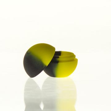 Silicone Ball-Black/Yellow
