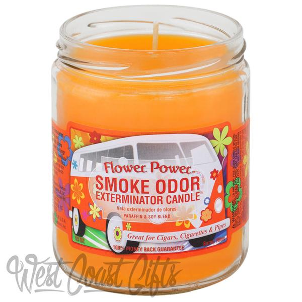 Candle: 13oz Flower Power Odor Exterminator