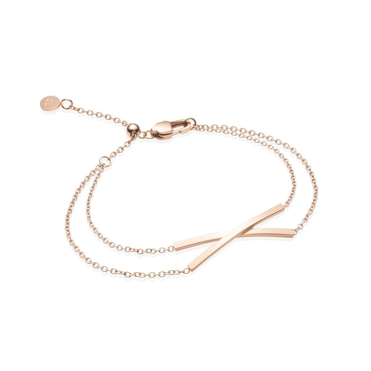 Bracelet Little Luxe Twist (Rose Gold)