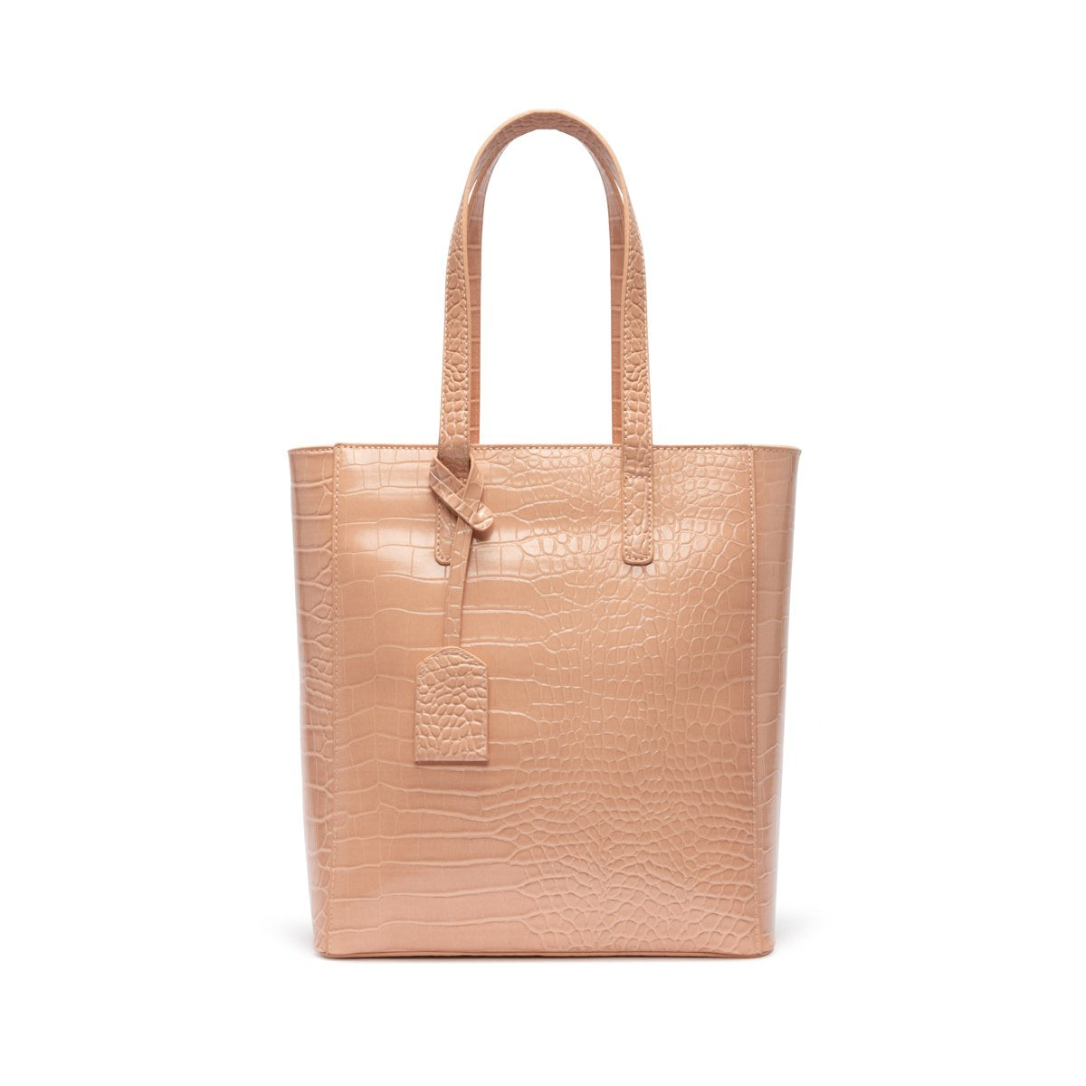 Tote Bag Cora (Pêche Blanche/Rose Gold)