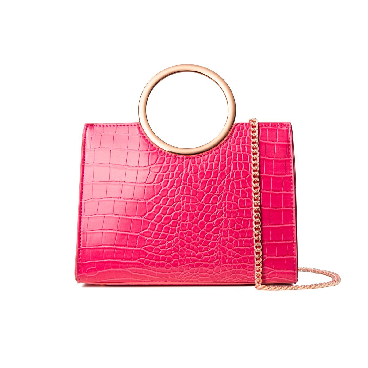Sac à main Arora (Fuchsia/Rose Gold)