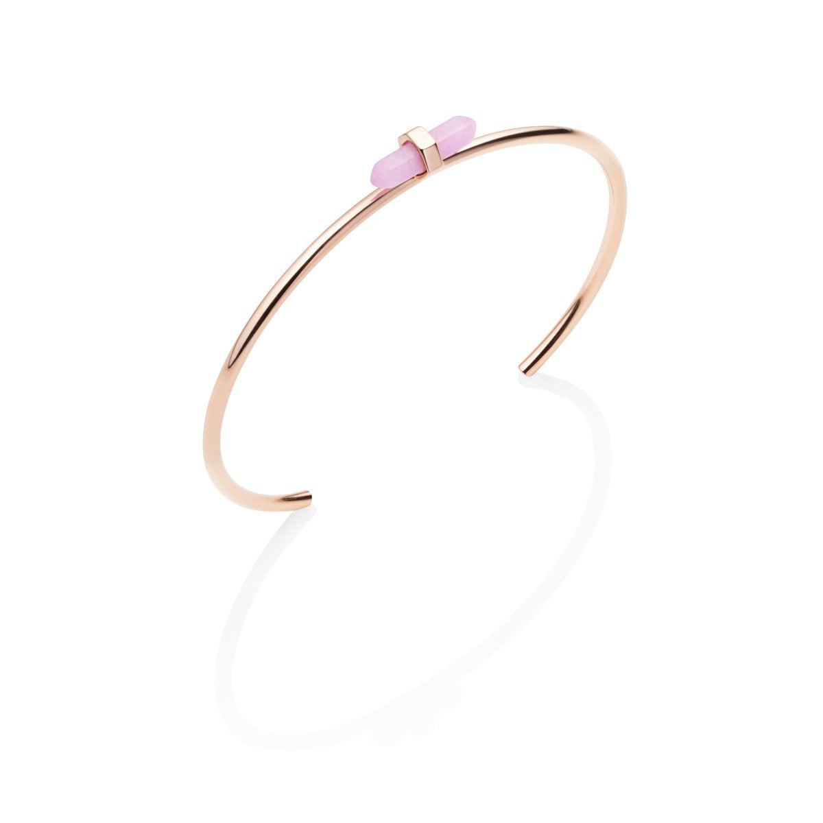 Bangle Prisme (Quartz Rose/Rose Gold)