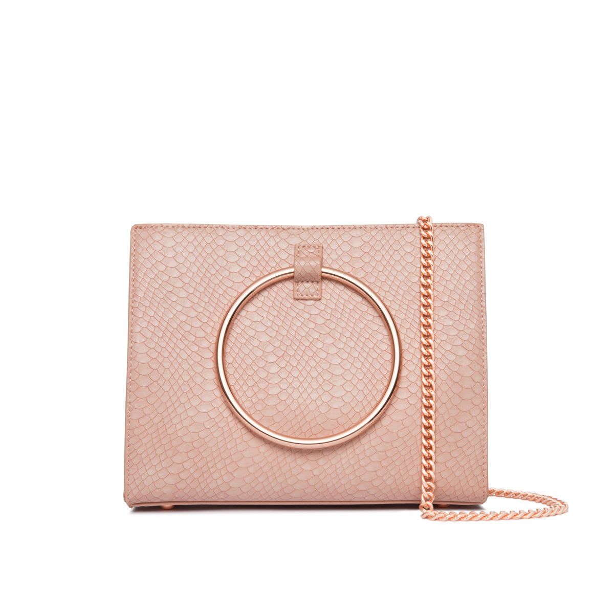 Sac à main Moda (Rose Oeillet/Rose Gold)
