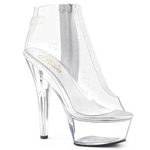 kiss 1023  Clear tpu  Clear pleaser platforms exotic dancing