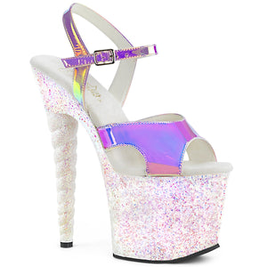 UNICORN-711LG Pleaser Platforms (Exotic Dancing) Erotic Sandals UNI711LG/PPTPU/OPG