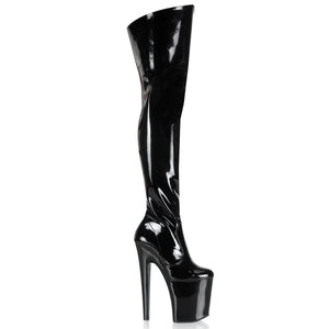 Pleaser-Platforms-(Exotic-Dancing)-XTREME-3010-Blk-Pat-and-Blk
