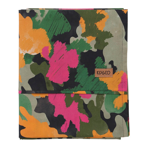 CAMO PINK COTTON FLAT SHEET