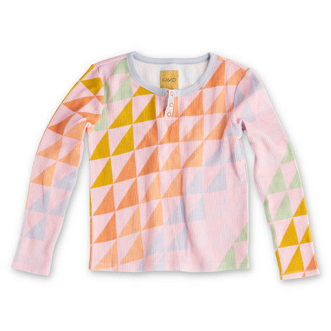 Right Angles Ls Waffle Top