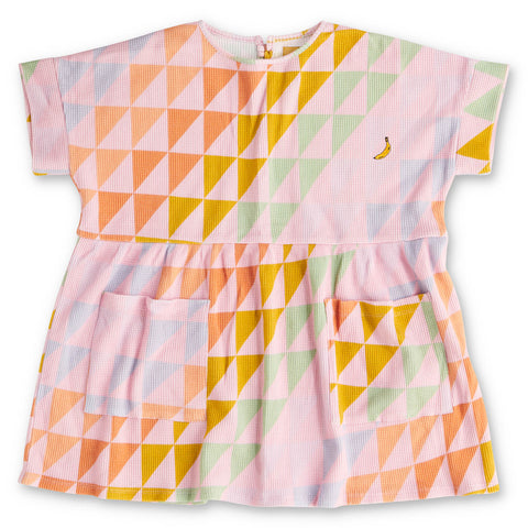 Right Angles Waffle Playtime Dress