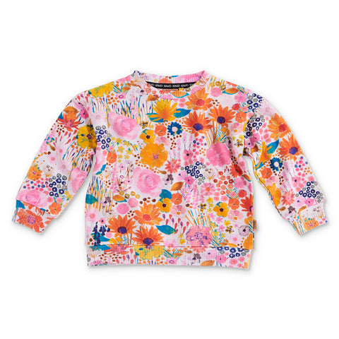 Pinky Field Of Dreams Sweater