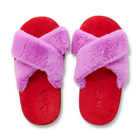 Raspberry Bubble Kids Slippers