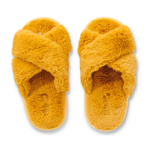 Sunshine Yellow Kids Slippers