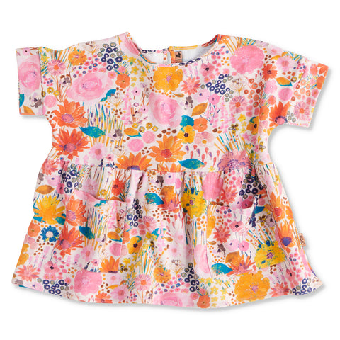 Pinky Field Of Dreams SS Play Dress