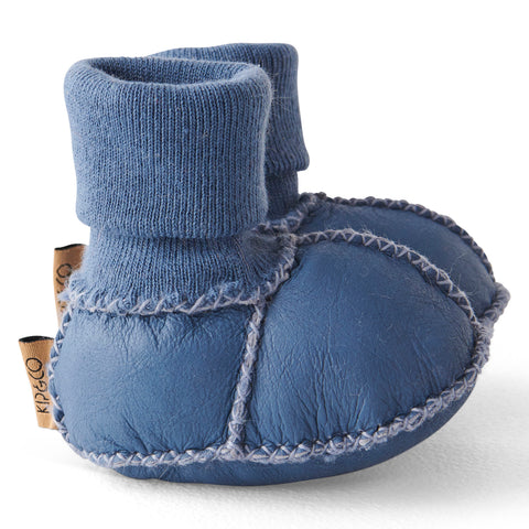 Blue Skies Baby Booties
