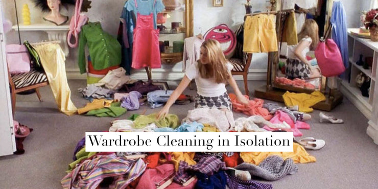 How to spring clean your wardrobe in isolation
