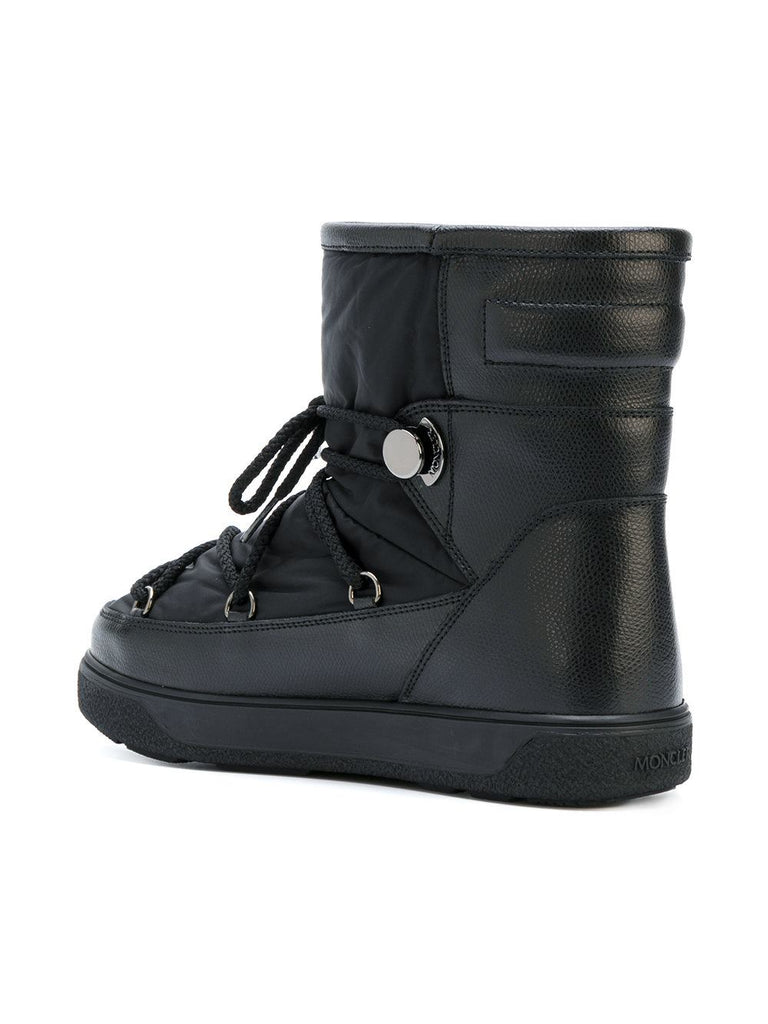 Moncler Black Padded Boot 2