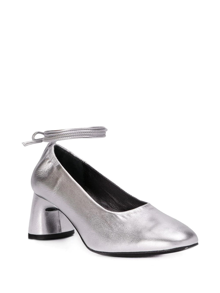 Dorateymur Silver Heeled Pumps 1