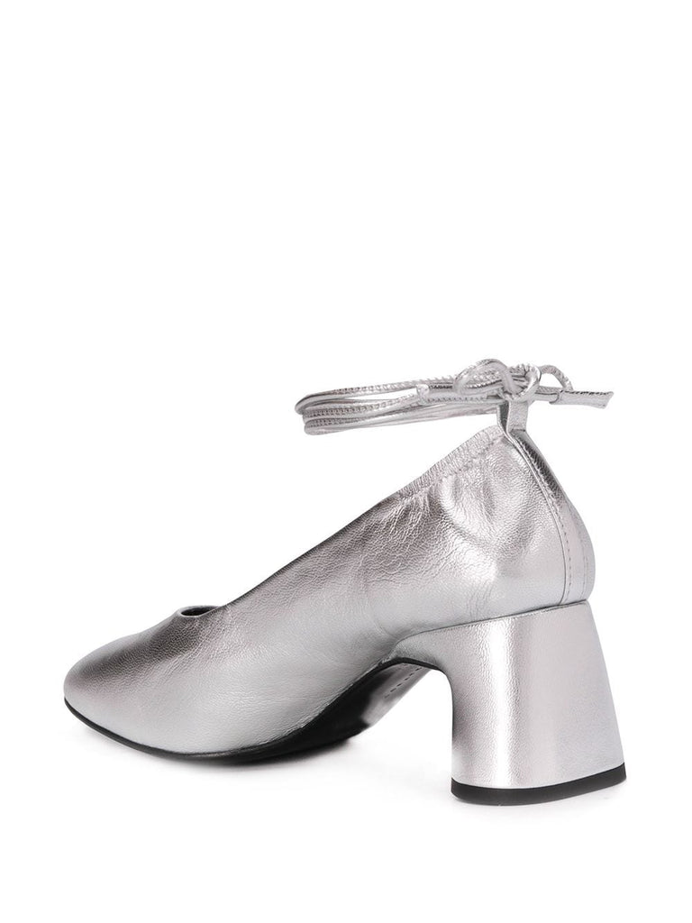 Dorateymur Silver Heeled Pumps 2