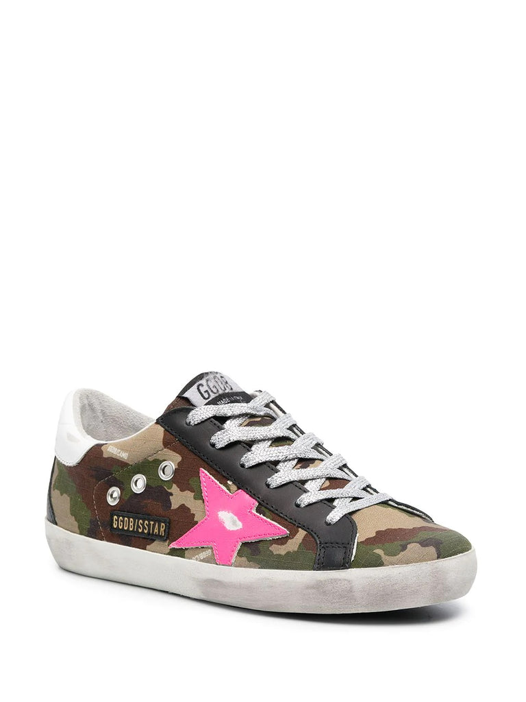 Golden Goose Camo Print Sneakers 1