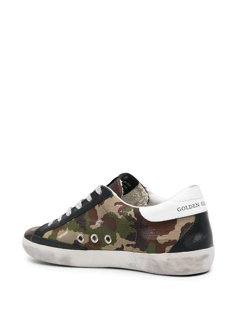 Golden Goose Camo Print Sneakers 2