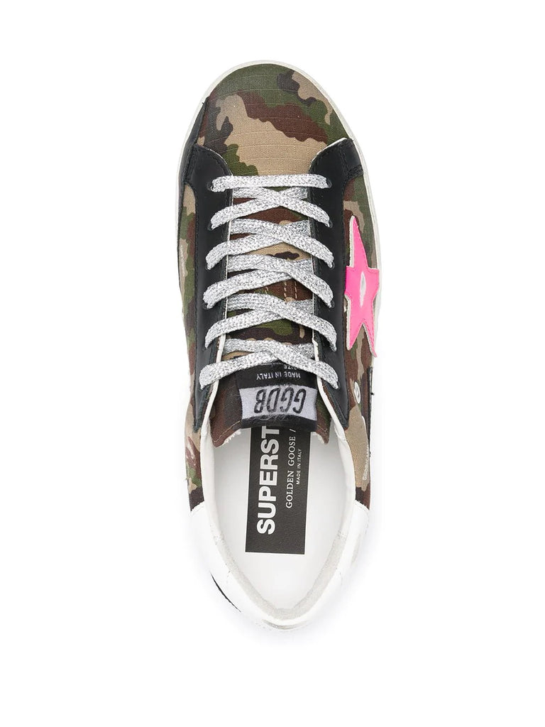 Golden Goose Camo Print Sneakers 3
