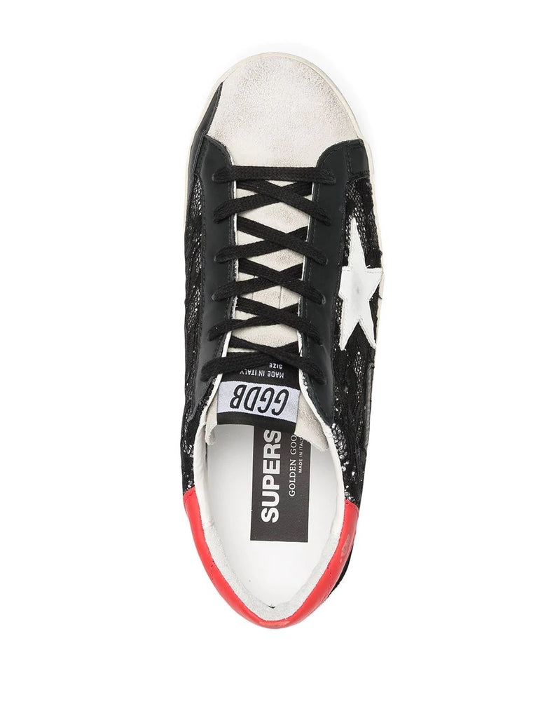 Golden Goose Black Lace Trainers 3