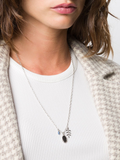 Isabel Marant Silver Pendant Necklace 1