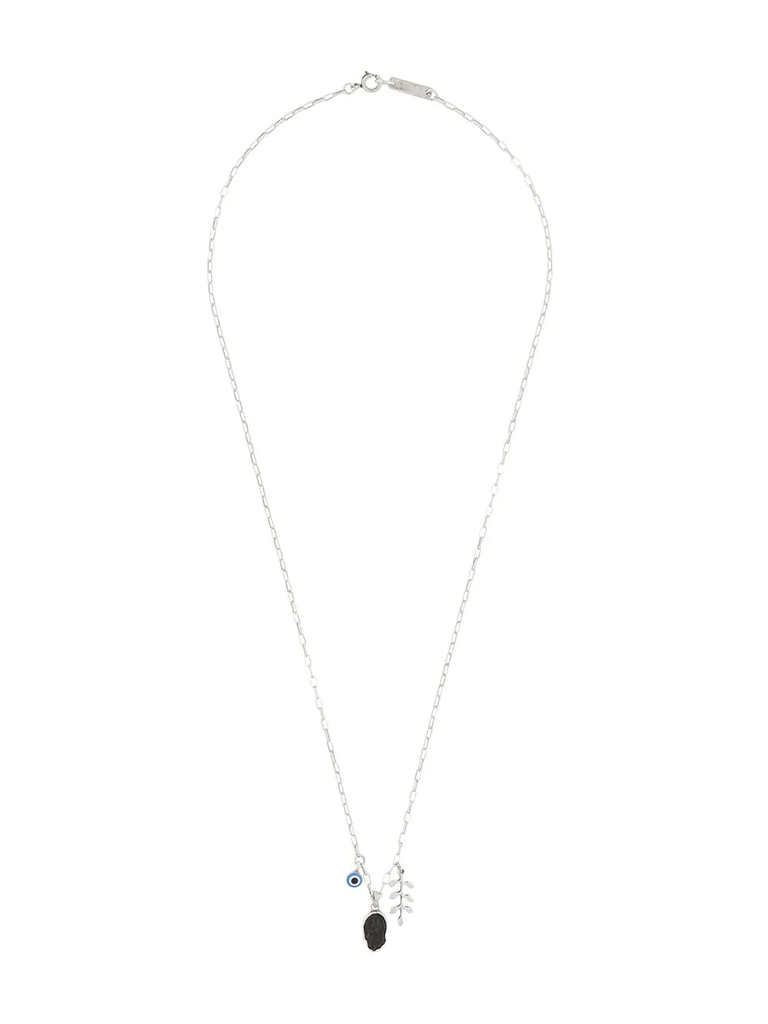 Isabel Marant Silver Pendant Necklace