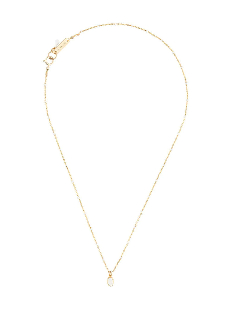 Isabel Marant Gold Pendant Necklace