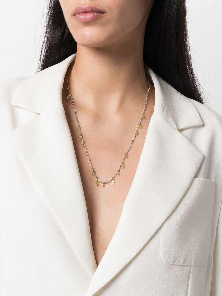 Isabel Marant Silver Gold Pendant Necklace 1