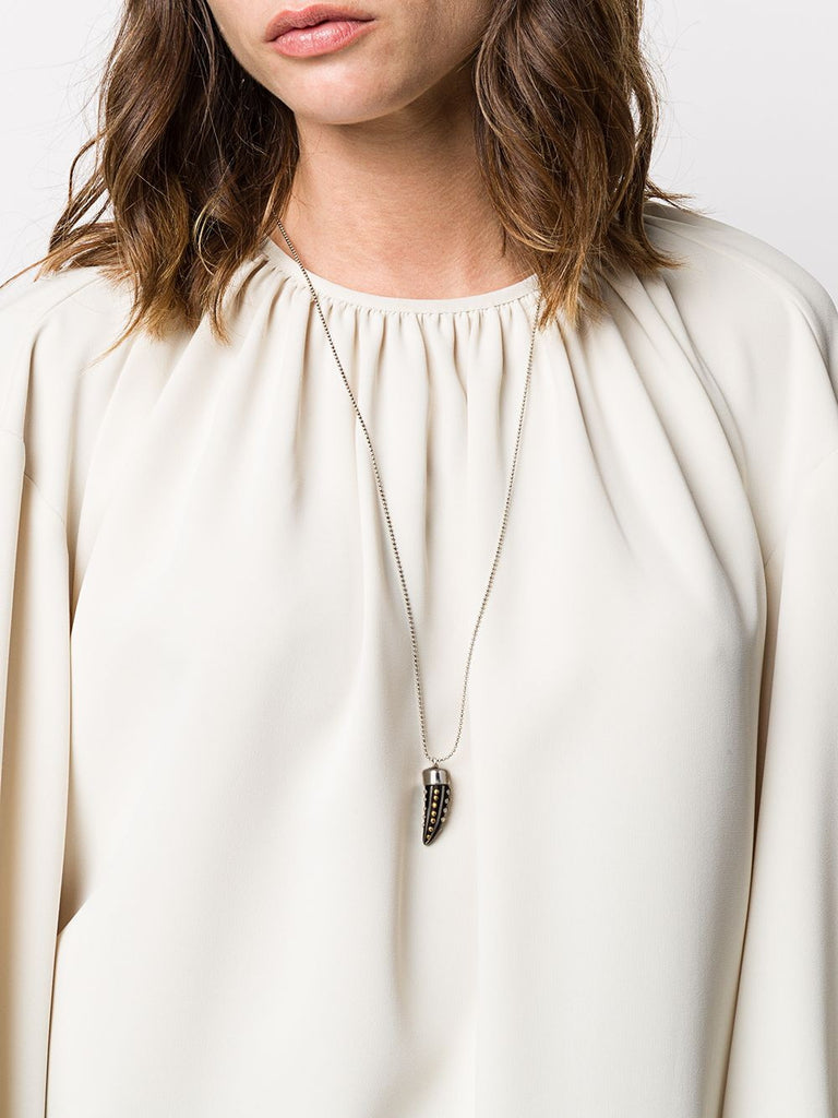 Isabel Marant Black Horn Necklace 1