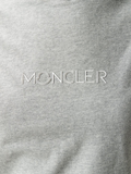 Moncler Grey Logo T Shirt 4