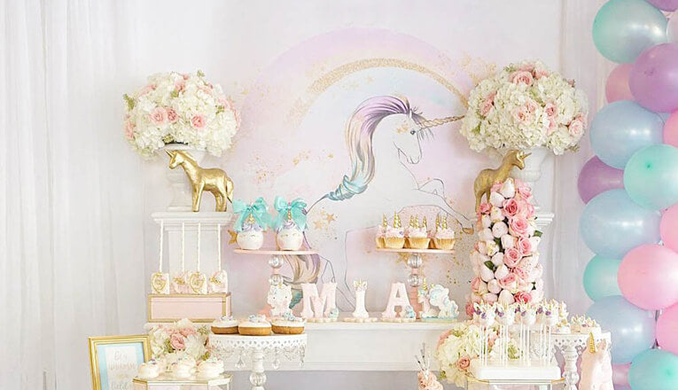 Creating your style of party with a Happy Birthday Unicorn Trend