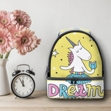 Cute Unicorn Thermos Two- stories Lunch Bag