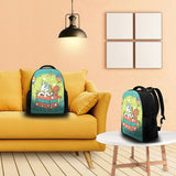 Durable High Quality Printed Unicorn & Mermaid Backpack for College