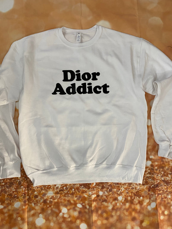 DIOR addict sweatshirt