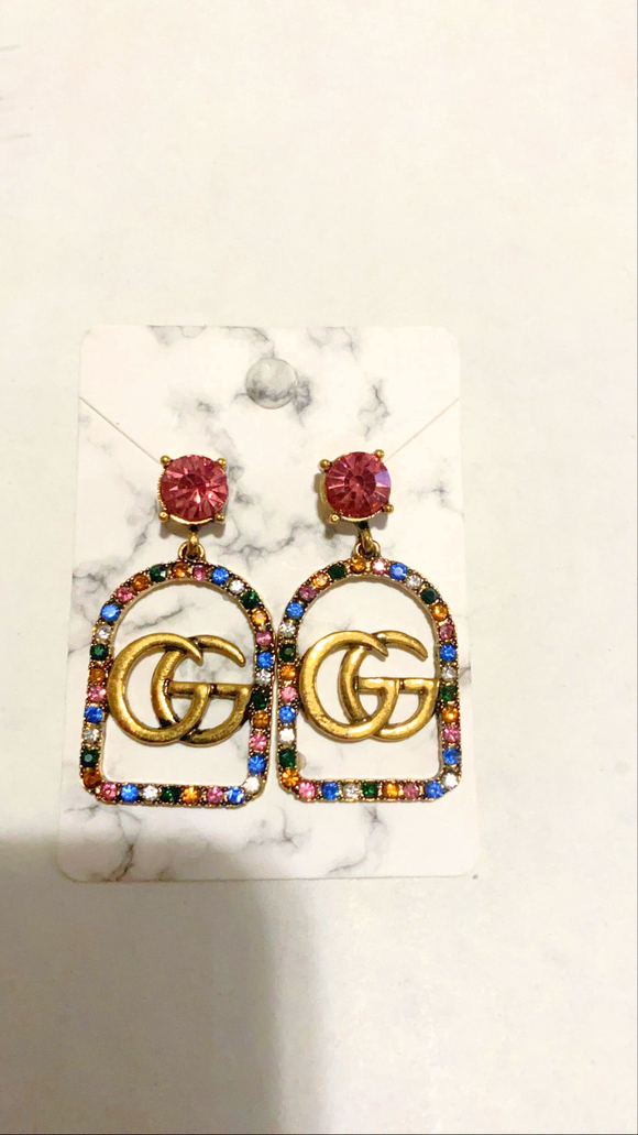 G Color Earrings