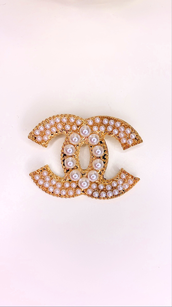 Pearl Overload Brooch