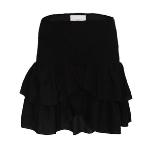 Neo Noir carin skirt, sort (3927889084495)