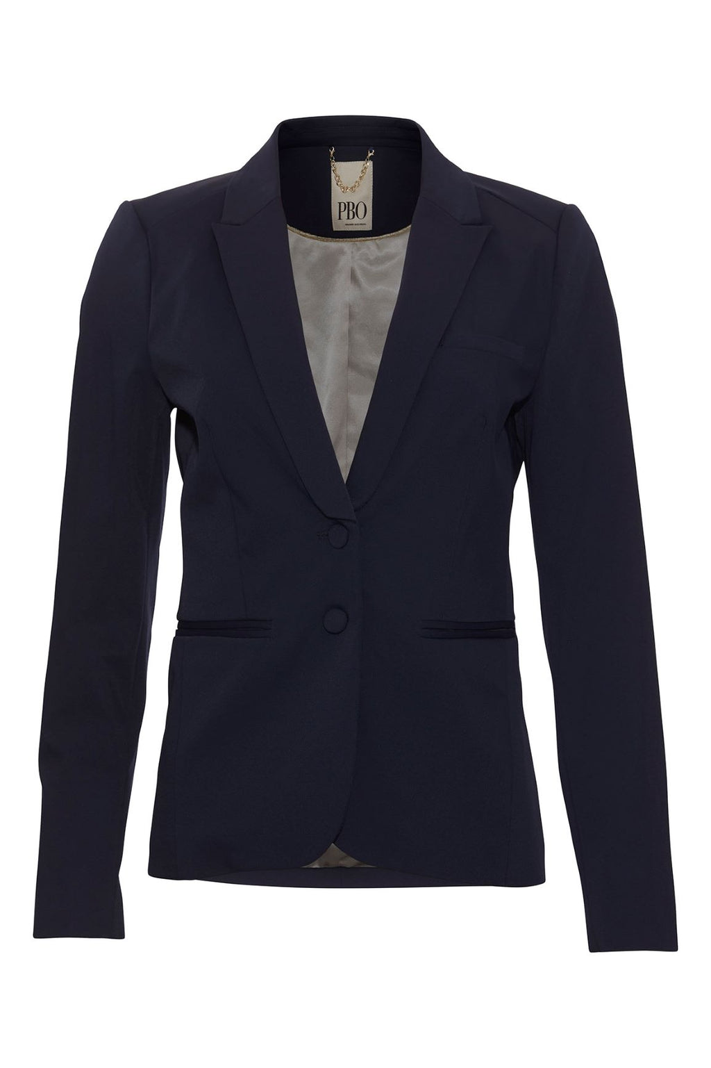 PBO Honor blazer jakker navy 1248 (3964279652431)