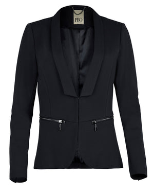 PBO Philosophy blazer sort (3697818107983)