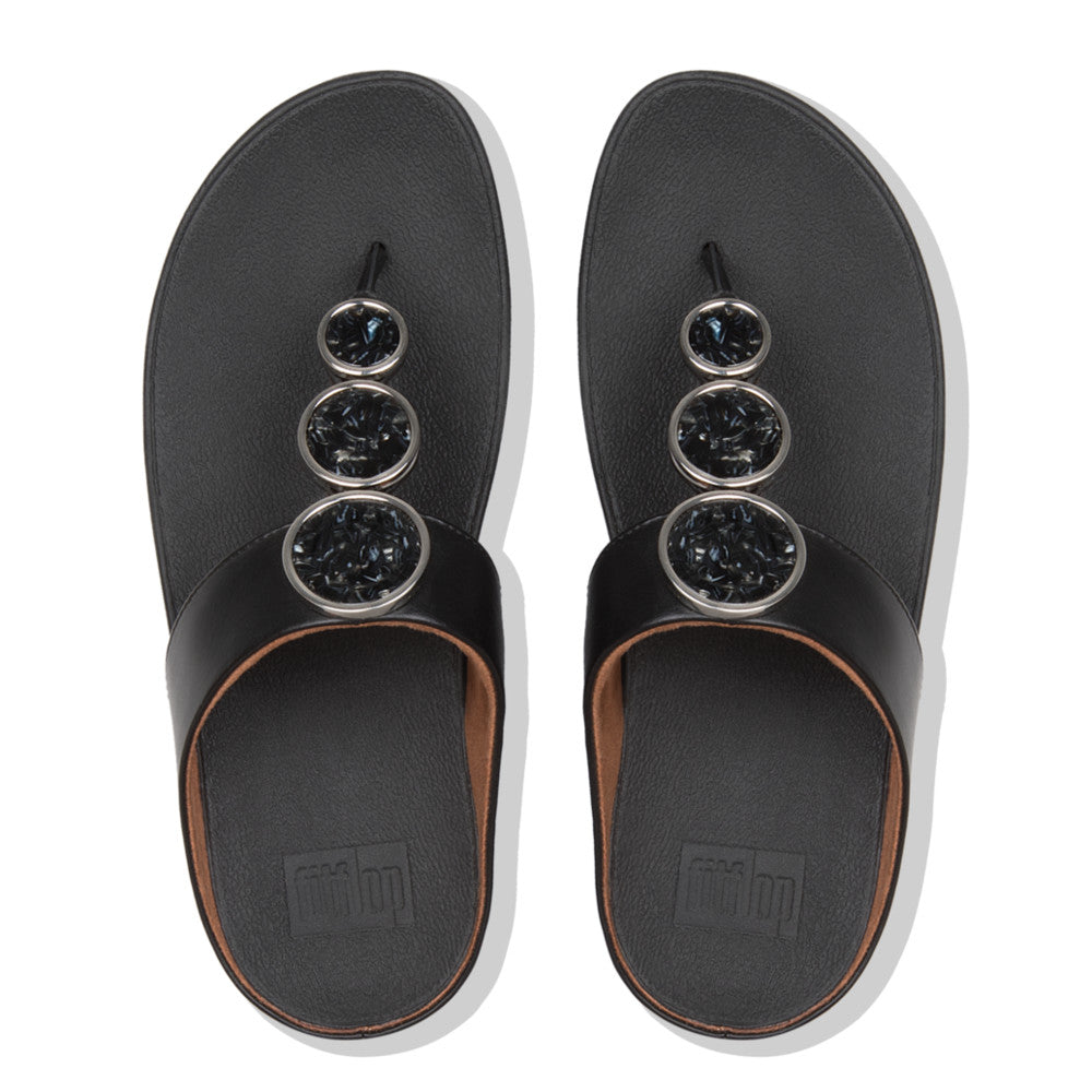 Fitflop Halo Sandal sort (3669851996239)