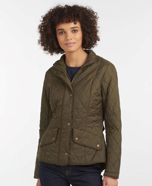 Barbour damejakke international quilt army