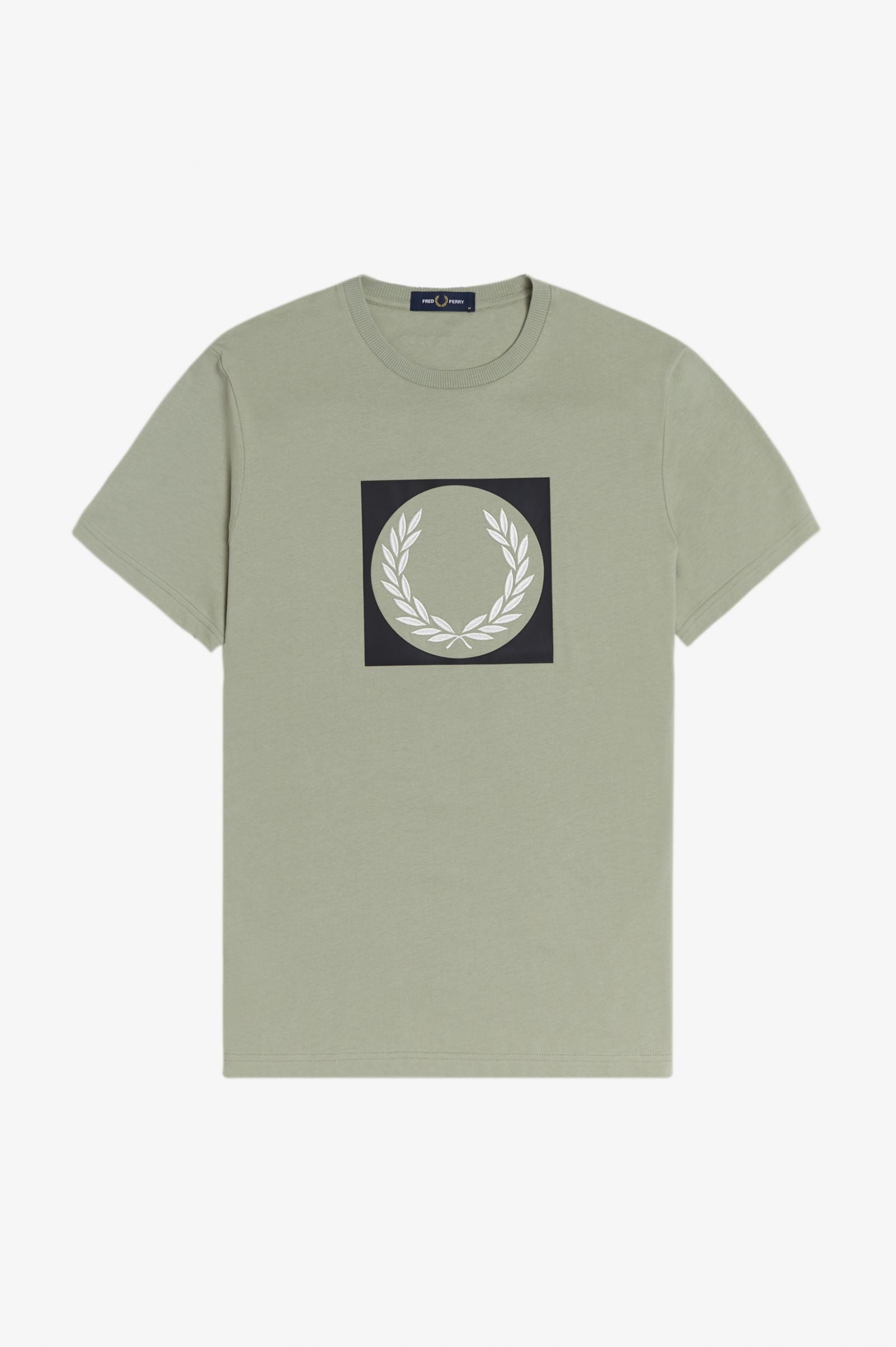 Fred Perry t-shirt M1655 oliven/M37