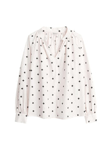 By Malene Birger Bluse Rosanda OffW. M./Sort.