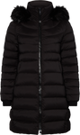 Tommy Hilfiger dunfrakke Stretch down coat, sort