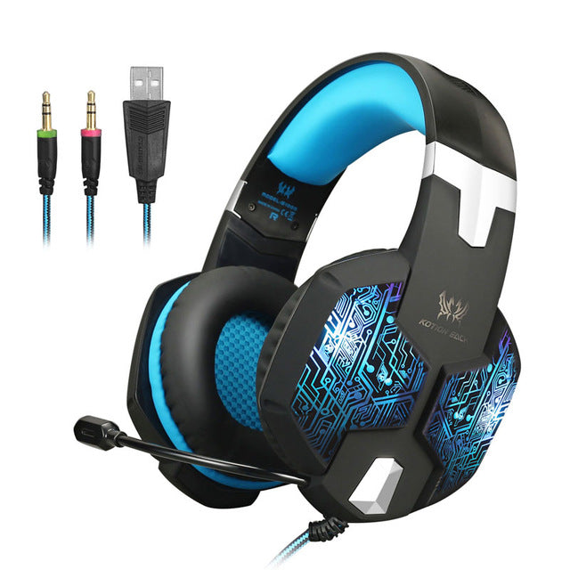 Audifonos Gamer Headset Casque Gaming Headset With Microphone