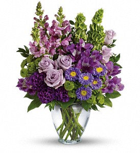 Lavender Charm Bouquet DX