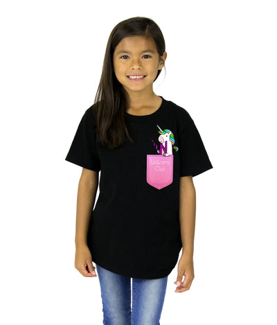 Pocket Full of Unicorns Kids Tee